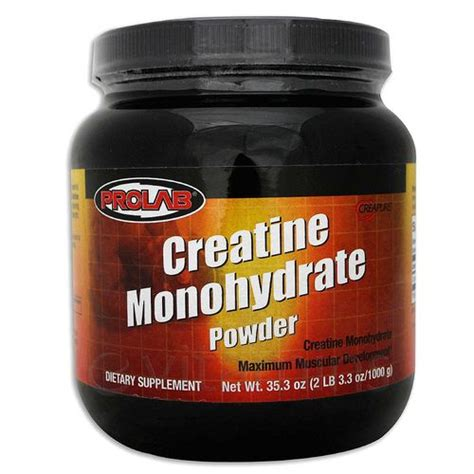 Using Creatine To Detox by Prolab Nutrition Creatine Monohydrate Powder 1 000 Grams