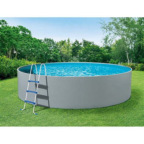 Pool 110 Cm mypool pool komplettset splash grau durchmesser 360 cm