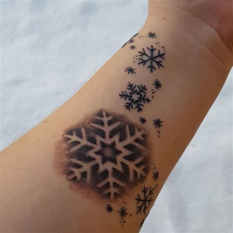 tattoo meaning snowflake 75 cute snowflake tattoo ideas express yourself with