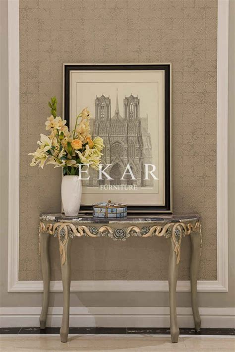 wood living room furniture half moon console cabinet gb wooden cabinet wall console table acrylic round entrance