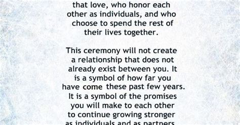 Wedding Blessing Ceremony Script by My Non Religious And Sweet Wedding Ceremony Script