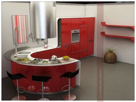 Rounded Kitchen Island round kitchen island an unexpected innovation or a