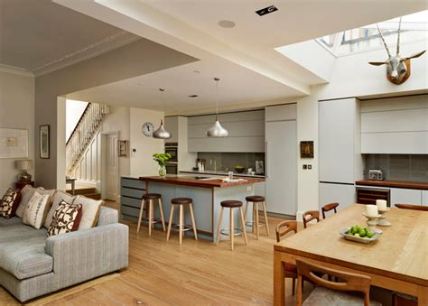 small kitchen extensions ideas roundhouse kitchen living spaces contemporary kitchen