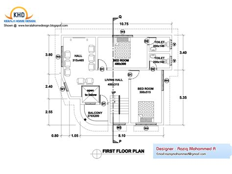 home design floor plans home plan and elevation kerala home design and floor plans