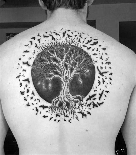 circle of life tattoo designs 100 tree of designs for manly ink ideas