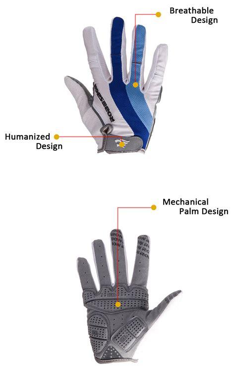 Cycling Gloves L Intl 2pcs robesbon mtb guantes finger bike outdoors sports