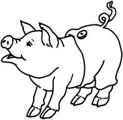 Printable Pig Coloring Pages  Me sketch template