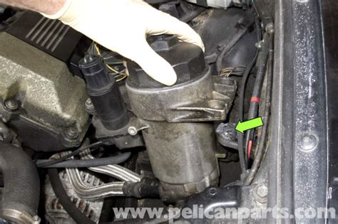 bmw  series changing engine oil