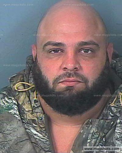 Hernando County Florida Court Records Damian Robert Ferrer Mugshot Damian Robert Ferrer Arrest