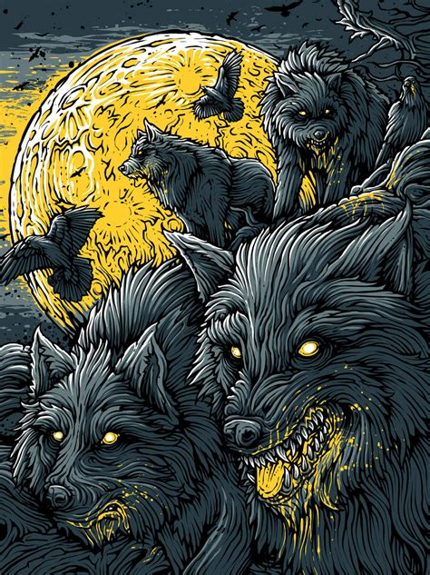illustrator tutorial wolf insane horror artwork from dan mumford cromeyellow com