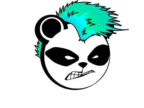 panda tattoo template panda angry face punk tattoo stencil golfian com