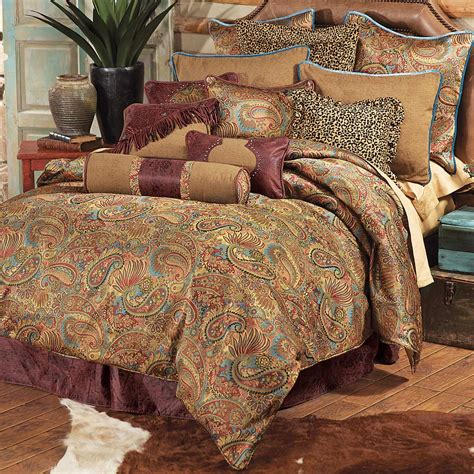 bedding king western bedding king size san angelo comforter set lone
