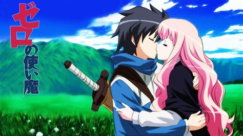 imagenes de anime love kiss zero no tsukaima