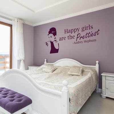 Decorazioni Muri Da Letto by I Migliori Adesivi Murali Di Hepburn Stickers Murali