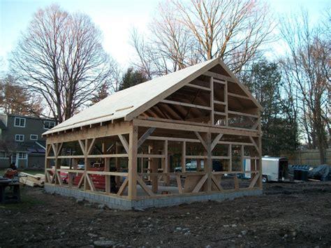 salt box wood barn kits barn building kits timber