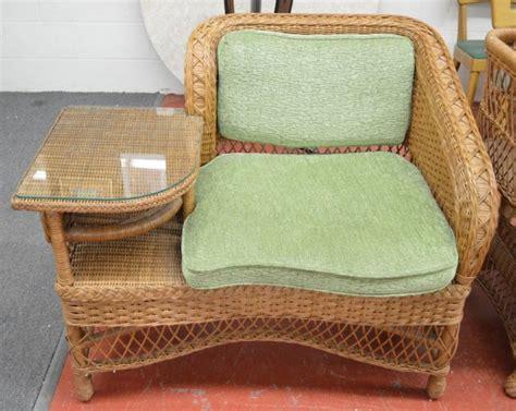 4 pcs henry link wicker furniture lot 122306