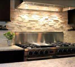 stacked stone backsplash for the home pinterest