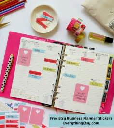 free business stickers 16 free planner printables everything etsy bloglovin
