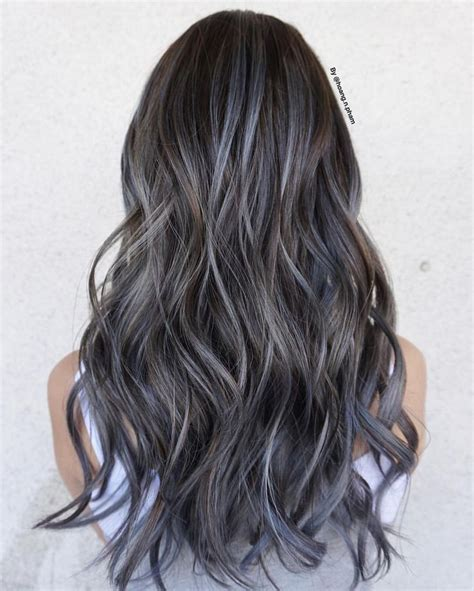 silver brown hair 25 best ideas about silver hair highlights on pinterest
