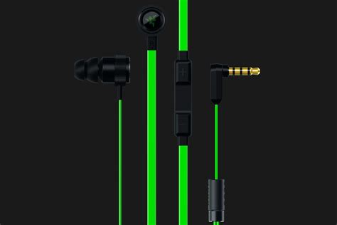 Razer Hammerhead V2 In Ear Headset Free Pouch in ear headphones with mic and in line remote razer hammerhead pro v2