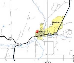 meeker colorado map 81641 zip code meeker colorado profile homes