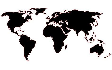 world map silhouette diy world map wall mural clutter