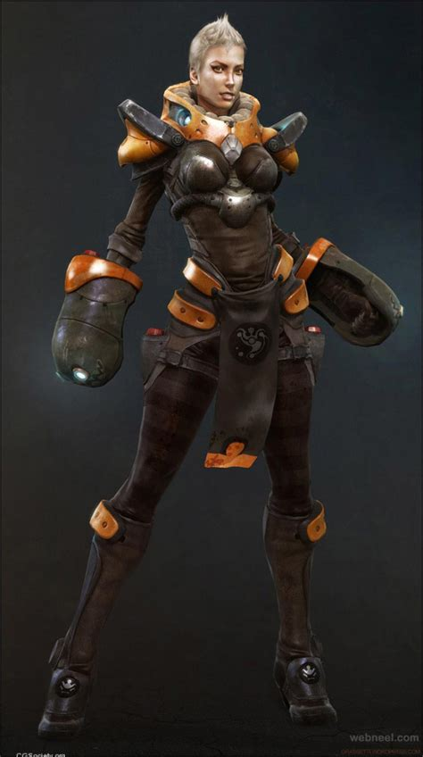 design game character 25 amazing 3d game characters design masterpieces for