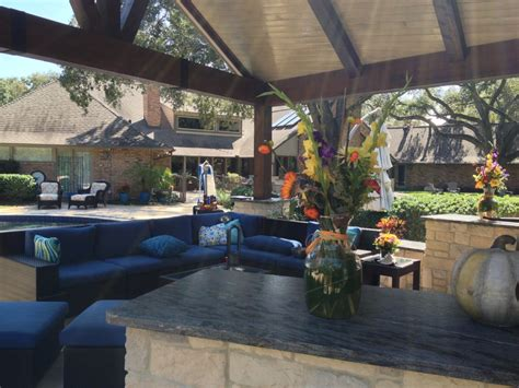 Houston Patio Design Watching Football On Tv Patio Design Houston
