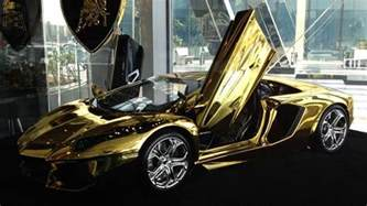 What Are Lamborghinis Made Out Of Gold Lamborghini Yours For 7 5 Million