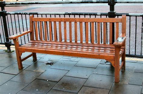 talking bench taxi tales talking benches
