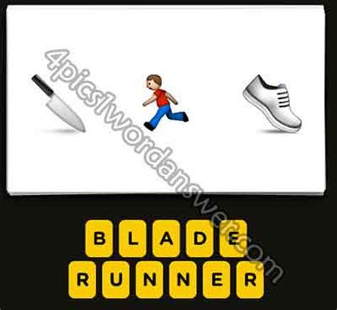 film man muscle knife emoji guess the emoji knife running man shoe 4 pics 1 word