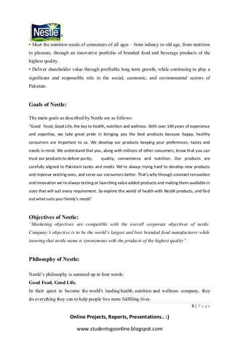 nestle cover letter nestle study change management study changing