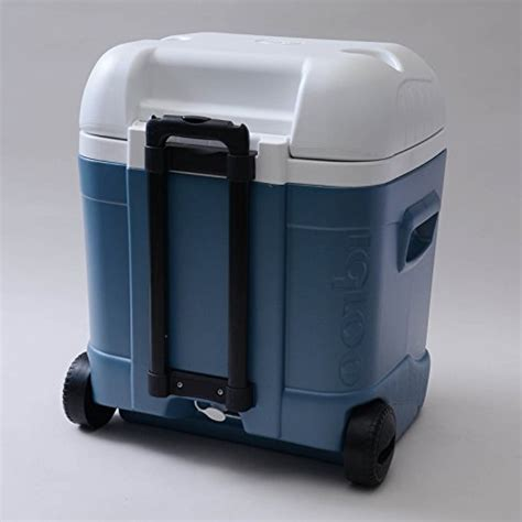 igloo ice cube roller cooler igloo ice cube maxcold roller 70 quart essential cgear