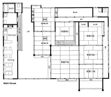 traditional japanese floor plan house floorplan japan property central