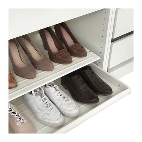 komplement pull out shoe shelf white 100x58 cm ikea