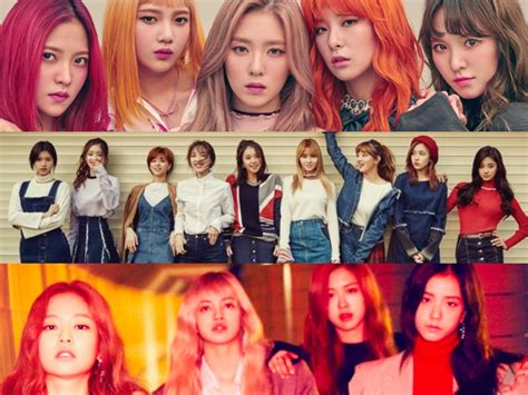blackpink twice october girl group brand reputation rankings revealed soompi