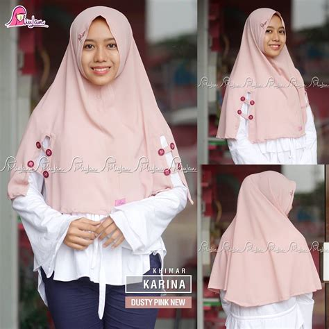 Khimar Tita Jilbab Tita Jilbab Khimar Tita Khimar Tita Goes dusty pink new miulan boutique