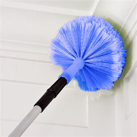 high ceiling duster connect clean 174 cob web duster the container store