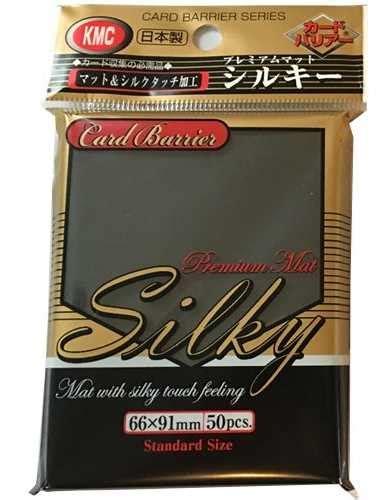 Card Sleeve Kmc Size Standard kmc std sleeves silky matte black 10 packs 34