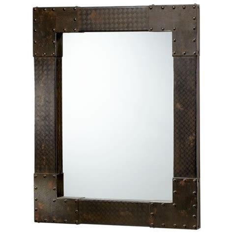 diana industrial iconic table l walls collection and lights lasalle industrial metal iron modern rectangle wall mirror