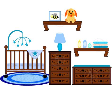 Crib Clipart by Nursery Clipart Cliparts Co