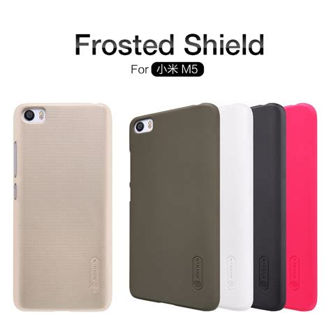 Hardcase Protection Xiaomi Mi 5 xiaomi mi5 xiaomi mi5 cover nillkin frosted shield back cover with free