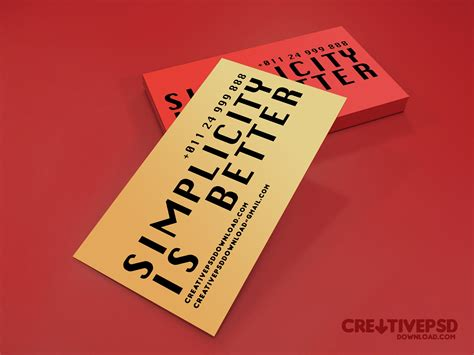beautiful business cards templates 100 free business card psd templates