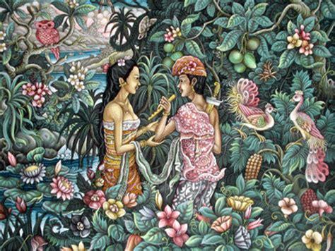 Lukisan Bali Jayaprana Layonsari September 2013 Febymiswari Dewi