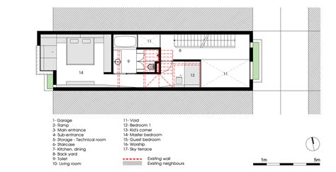 Typical House Floor Plan Dimensions waaaat 4 5x20 house by ahl architects associates design