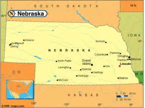 us map nebraska nebraska map