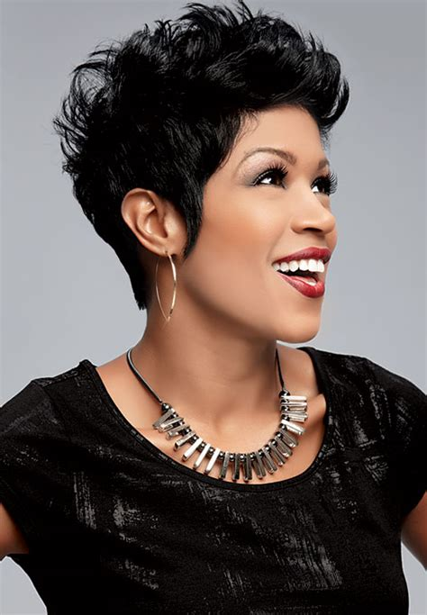 val warner with her natural hair sophisticate s black hair styles and care guide 187 val warner