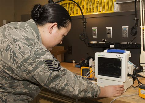 Biomedical Equipment Technician by Biomedical Equipment Technicians Keep Readings Accurate Gt Minot Air Base Gt Article Display