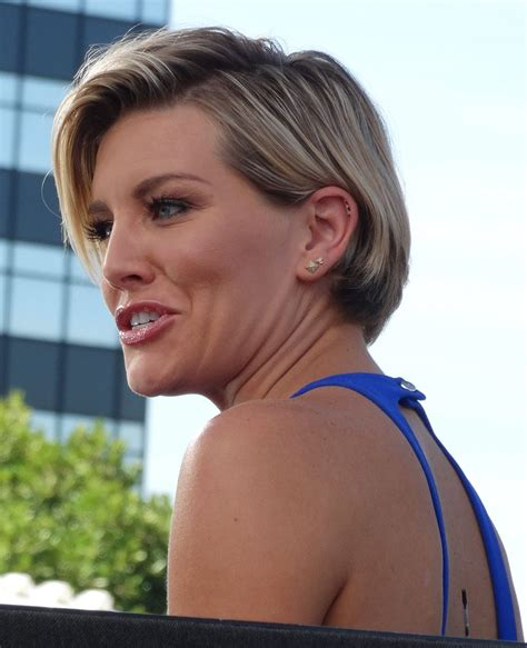 Charissa Set charissa thompson on the set of celebzz