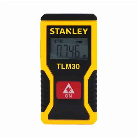 stanley introduces tlm99s laser distance measurer with smallest rechargeable laser distance measurer by stanley